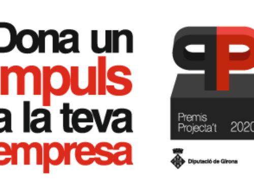 PARTICIPA A LA SEGONA EDICIÓ DELS PREMIS PROJECTA'T DE LA DIPUTACIÓ DE GIRONA